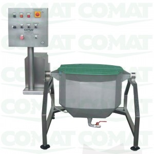 discontinuous stretching cheese machine